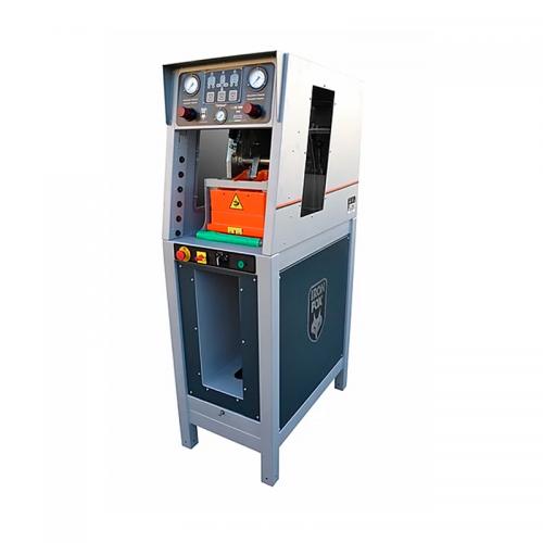 máquina neumática de prensado de suelas