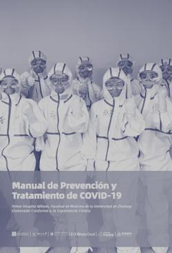 Manual de Prevención y Tratamiento de COVID-19