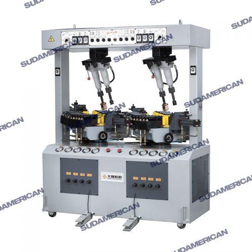 maquina de pegado de plantas hidraulica de dos estaciones ds603q PERÚ