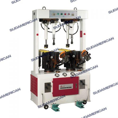 maquina prensadora pegadora de calzado hidraulica dvp869