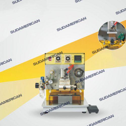 maquina timbradora y grabadora con foil rx800