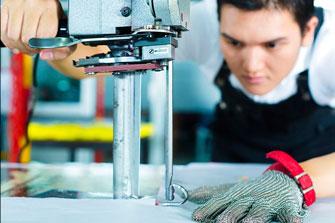 maquinas de corte y tendedoras de tela