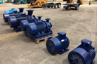 venta de motores electricos industriales